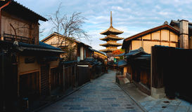 Yasaka Pagoda Stock Photography