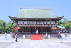 Famous Yasaka Shrine Kyoto Japan  Stock Photography