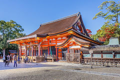 Yasaka shrine in Kyoto, Japan Stock Images