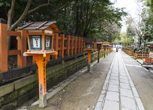 Yasaka shrine in Kyoto, Japan Royalty Free Stock Image
