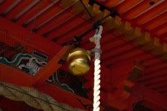 Yasaka Shrine's bell Stock Images