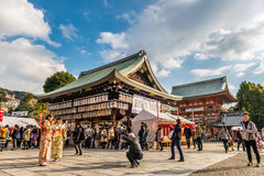 Yasaka Shrine Stock Image