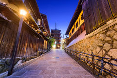 Yasaka Slope in Kyoto Royalty Free Stock Photography
