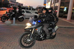 Yasam - ειδική μονάδα περιπόλου αστυνομίας του Ισραήλ Στοκ φωτογραφία με δικαίωμα ελεύθερης χρήσης