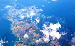 Yasawas widok z lotu ptaka Obrazy Stock