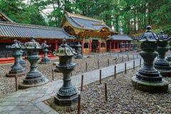 Yashamon Gate at Taiyuinbyo Shrine in Nikko, Japan Stock Photo