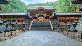 Yashamon-Tor an Taiyuinbyo-Schrein in Nikko, Japan Stockbild