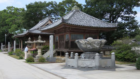 Yashima-Tempel auf Shikoku-Insel in Japan Lizenzfreie Stockfotografie