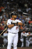 Yasmany Tomas. Arizona Diamondbacks outfielder Yasmany Tomas Stock Photography