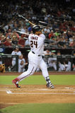 Yasmany Tomas. Arizona Diamondbacks outfielder Yasmany Tomas Stock Image