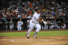 Yasmany Tomas. Arizona Diamondbacks outfielder Yasmany Tomas Royalty Free Stock Photo