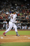 Yasmany Tomas. Arizona Diamondbacks outfielder Yasmany Tomas.  (August 15, 2016 Royalty Free Stock Photography