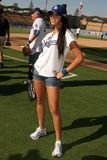 Yasmin Deliz. At The 50th Annual Hollywood Stars Game hosted by the Los Angeles Dodgers. Dodgers Stadium, Los Angeles, CA. 06-21-08 Royalty Free Stock Photography