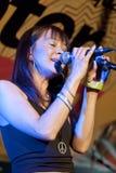 Yasmin Licinio from the band N.U.M.B. Royalty Free Stock Photos