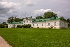 Yasnaya Polyana, Τούλα, Ρωσία - τον Ιούνιο του 2016 Σπίτι του Leo Tolstoy στοκ εικόνα