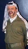 Yasser Arafat at Madame Tussaud's stock photography