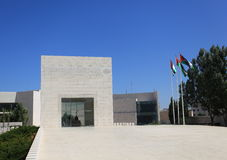 Yasser Arafat's Mausoleum in Ramallah City. View of the tomb inside the complex of the mausoleum of Yasser Arafat located in the Mukataa compound, Ramallah. 10 stock photography