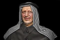 Yasser Arafat. UZHGOROD, UKRAINE - JAN 25, 2014: waxwork Yasser Arafat - Exhibition of Wax Museum Art, Uzhgorod stock photos