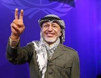 Yasser Arafat. Wax statue of famous politician Yasser Arafat. Wax figure in Waxworks Museum stock photos