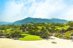 YASUGI, SHIMANE / JAPAN – MAY 25, 2010: View of japanese dry l Royalty Free Stock Image