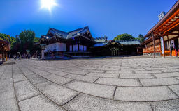 Yasukuni Shrine in Tokyo, Japan. royalty free stock photos