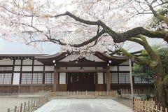 Yasukuni Shrine was found for enshrining. Help build the foundation for a peaceful Japan Royalty Free Stock Photos
