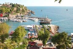 Yat Limani. In Antalia Turkey Royalty Free Stock Image
