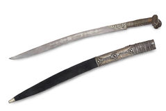 Yataghan (sabre, sword) of Turkish janizary Stock Photo
