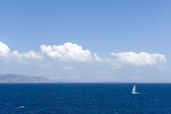yatch ветра sailing Стоковая Фотография RF