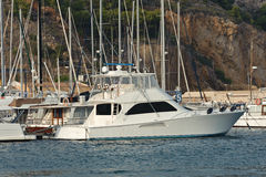 Yatch anchored Royalty Free Stock Image