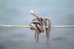 Yatch's knot Stock Photography
