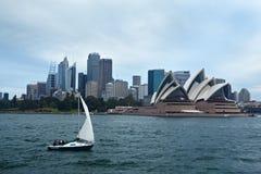 Yatch sailing Royalty Free Stock Photo