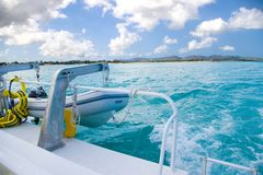 Yatch view Royalty Free Stock Photos