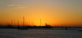 Yatchs Baja California sur royaltyfria bilder
