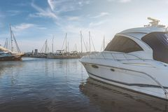 Free Yatchs Rest At Marina In Evening Stock Photography - 104894102