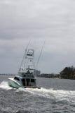 Yate 2 de la pesca Fotos de archivo libres de regalías