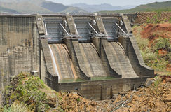 Yate Dam Spillway Royalty Free Stock Images