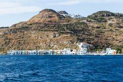 Yate de la navegación en el mar Fotografía de archivo libre de regalías