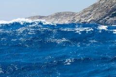 Yate de la navegación en el mar Fotografía de archivo