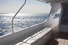 Yate en el mar Imagen de archivo libre de regalías