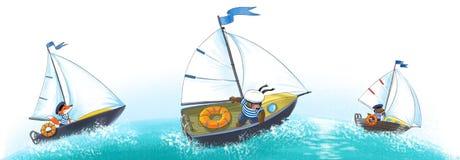 Yate, regata. libre illustration