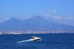 Yate y Nápoles Fotos de archivo libres de regalías
