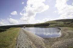 Yateholme reservoir Royalty Free Stock Images