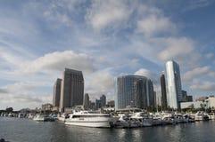 Yates en San Diego Fotografía de archivo libre de regalías