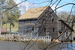Yates Mill. A picture of Yates Mill in Raleigh NC royalty free stock photography