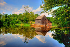 Yates Mill Pond Royalty Free Stock Photography