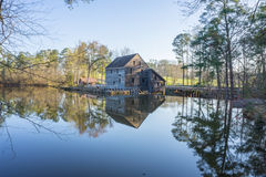 Yates Mill. Yates Mill in Raleigh, NC on 3/16/2016 royalty free stock images