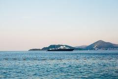Yates y barcos en el mar adriático Imagenes de archivo