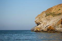 Yati strand Arkivfoto