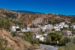 Yator no La Alpujarra Granadina, Sierra Nevada, Espanha imagens de stock